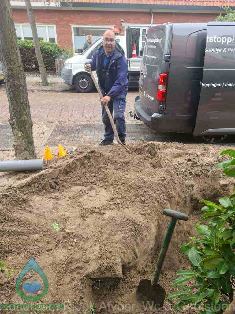 Riool ontstoppen Rotterdam graven
